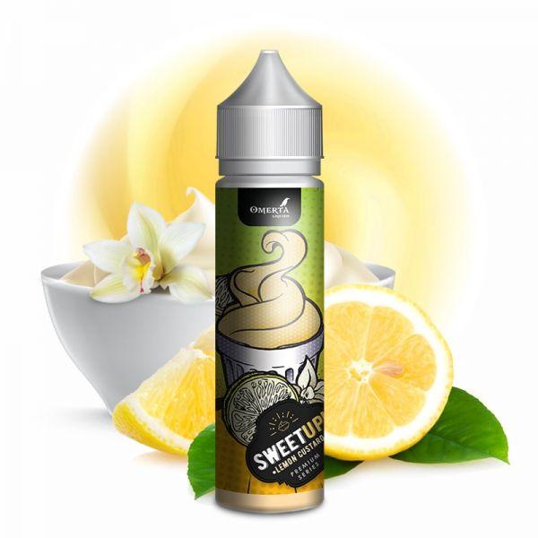 Omerta - SweetUp Lemon Custard - 20ml longfill Aroma