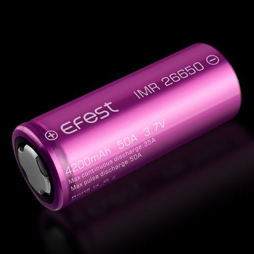 Efest Purple IMR26650 4200 mAh