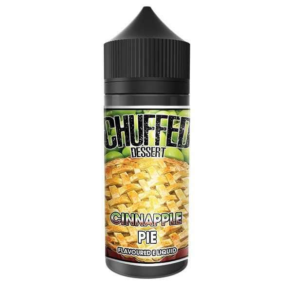 Chuffed Dessert - Cinnapple Pie - 100ml Shortfill