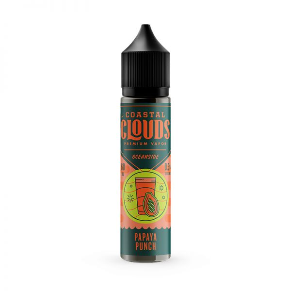 Coastal Clouds - Papaya Punch - 50ml Shortfill