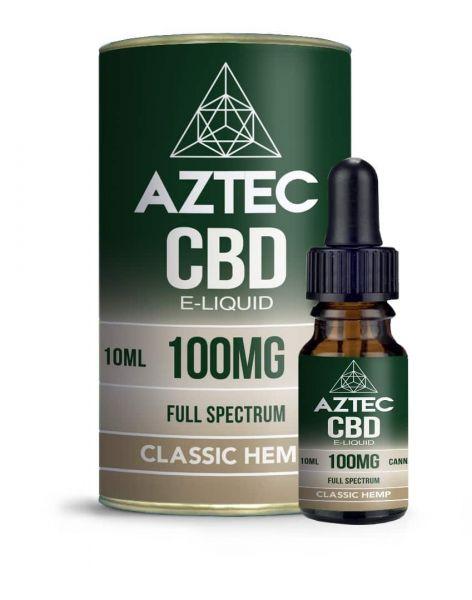 Aztec Classic Hemp CBD E-Liquid