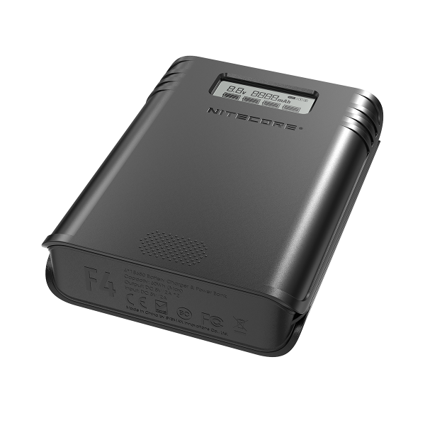 Nitecore F4 18650 Charger - Powerbank
