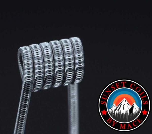 Sunset Coils - Staggered Fused Clapton / DL