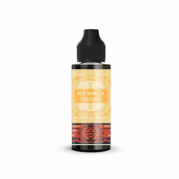 Vapliquid Limited Edition - Red Vanilla Custard - 80ml shortfill