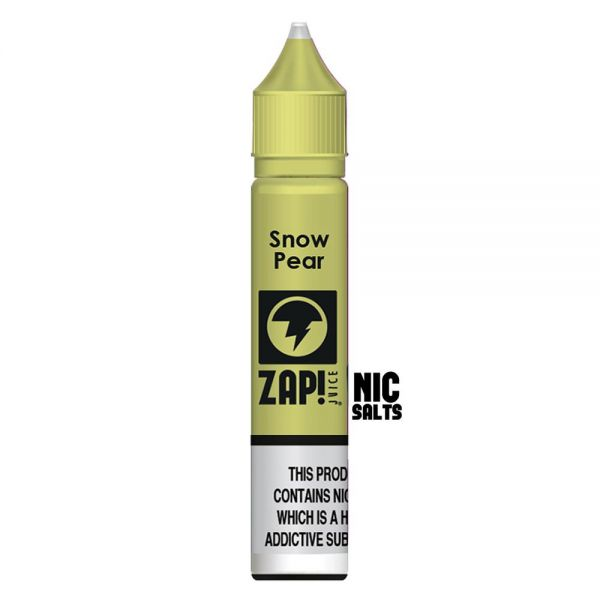 ZAP! Snow Pear - 20mg Nic Salt
