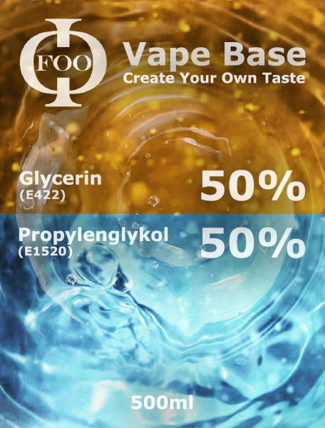 Foo Fluids Vape Base 500 ml
