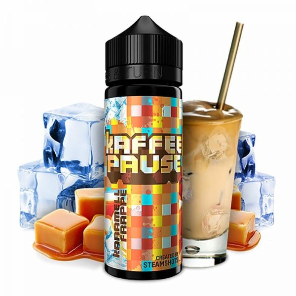 Kaffeepause - Karamell Frappé Ice - Shake n'Vape Aroma