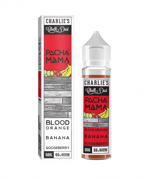 Pacha Mama Blood Orange - 50ml Shortfill