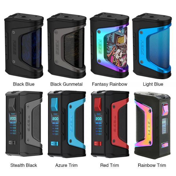 Geekvape Aegis Legend Mod Farbübersicht