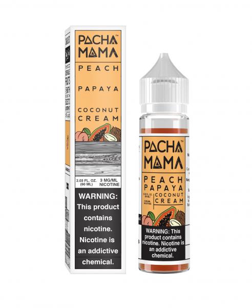 Pacha Mama Peach - 50ml Shortfill