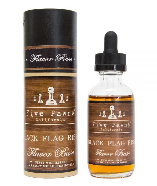 Five Pawns Black Flag Risen - 50ml Shortfill