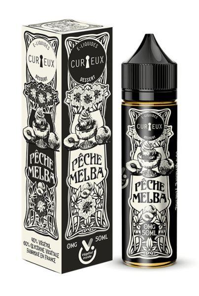 Curieux Edition Dessert Peche Melba - 50ml Shortfill