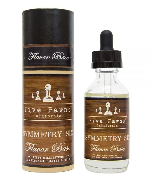 Five Pawns Symmetry Six - 50ml Shortfill