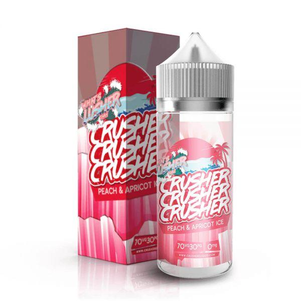 Crusher E-Liquid - Peach & Apricot Ice - 100ml Shortfill
