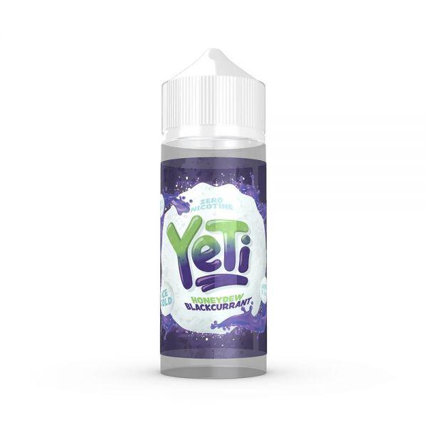 Yeti Honeydew Blackcurrant - 100ml Shortfill