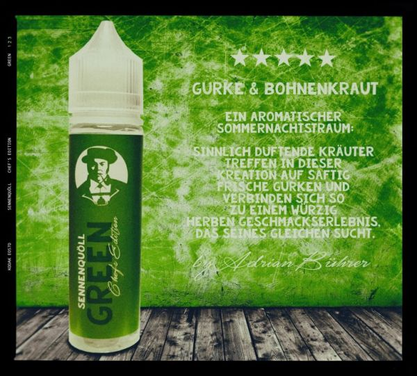 Sennenquöll Chef's Edition Green - 50ml Shortfill