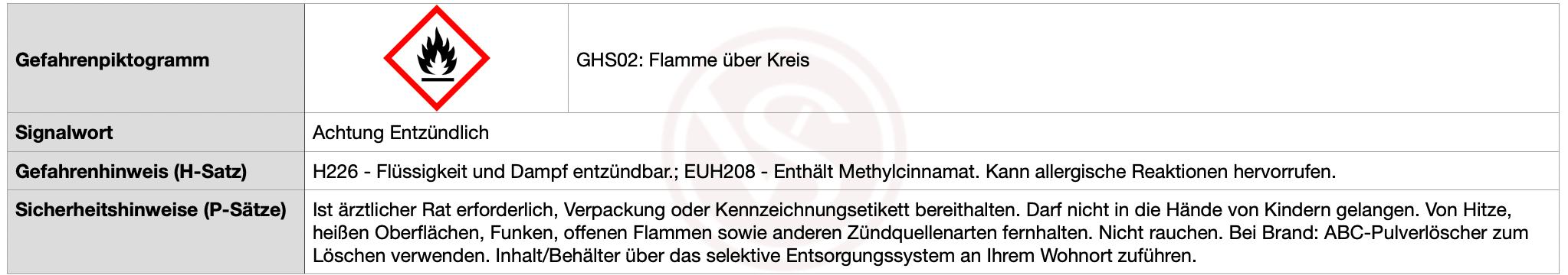 Achtung_Entzundbar_H226-und-EUH208_Methylcinnamat-min