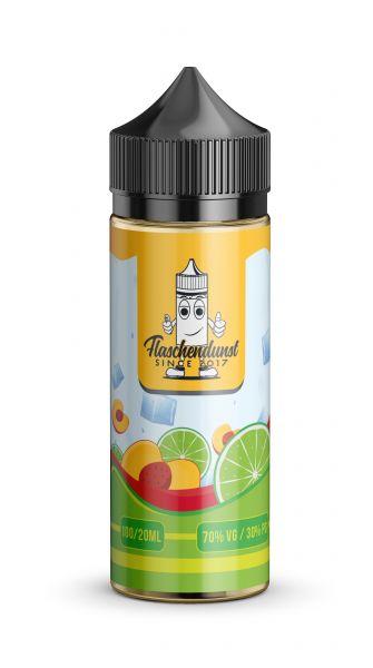 Flaschen Dunst  - Frost Limepeach - 100ml Shorfill