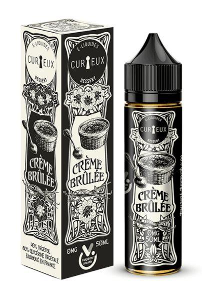 Curieux Edition Dessert Crème Brûlée - 50ml Shortfill