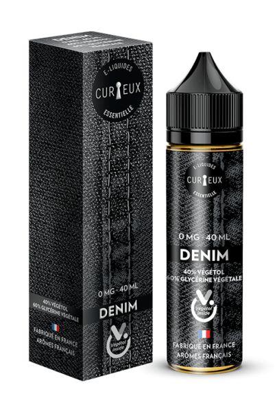 Curieux Essentiell - Denim - 40ml Shortfill