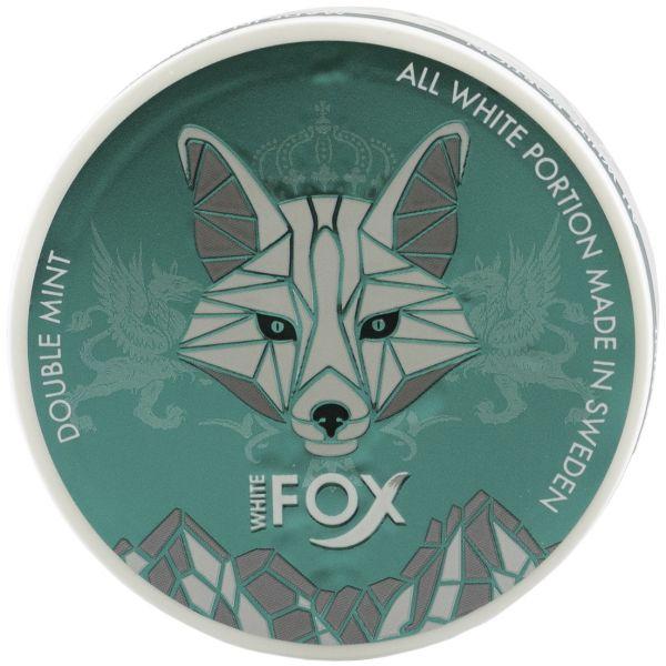 White Fox Double Mint All White Portion Slim 15 g