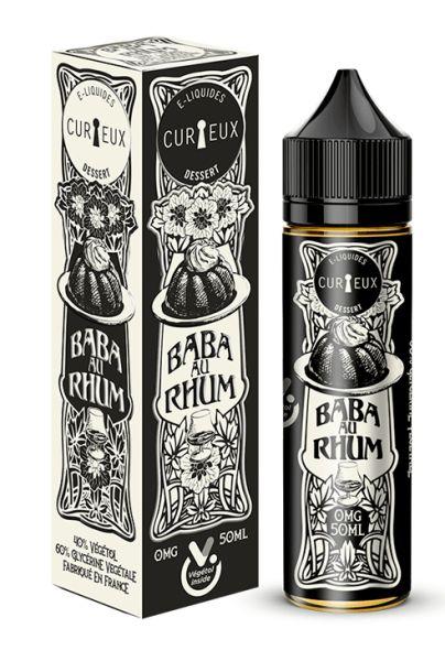 Curieux Edition Dessert Baba au rhum - 50ml Shortfill
