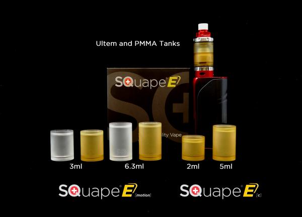 Tank Ultem™ SQuape E[motion] 6.3ml 22mm - Vergleichsbild