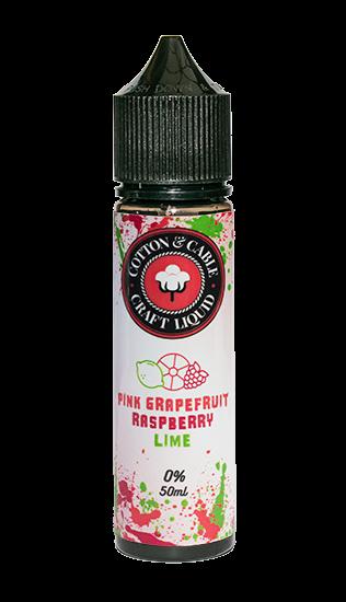Cotton & Cable - Pink Grapefruit Raspberry Lime - 50ml Shortfill