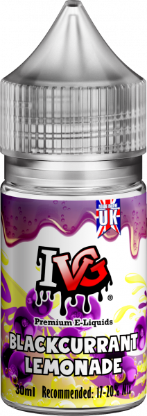 IVG Aroma Blackcurrant Lemonade - 30ml