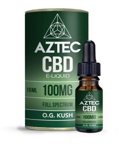 Aztec O.G. Kush CBD E-Liquid
