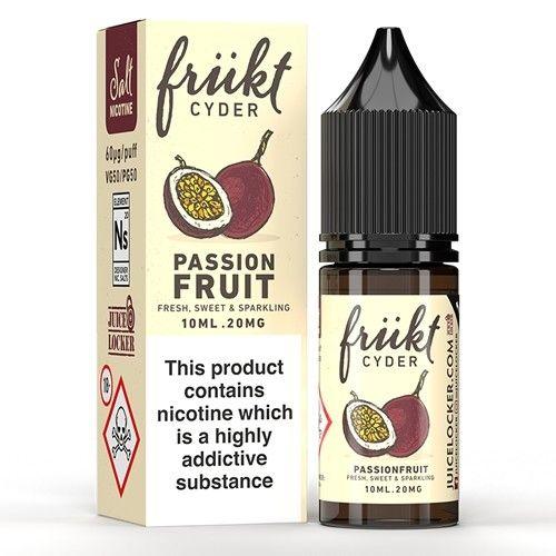 Frückt Cyder - Passionfruit - 10ml Nic Salt - 20mg