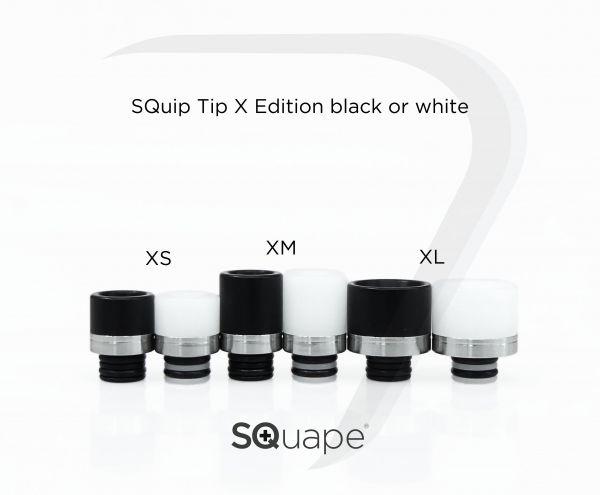 Stattqualm SQuip Tip X Editon Delrin - SS