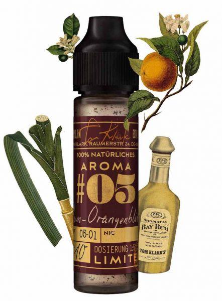 Tom Klark´s natürliche Aromen #05 Rum-Orangenblüte - 10ml
