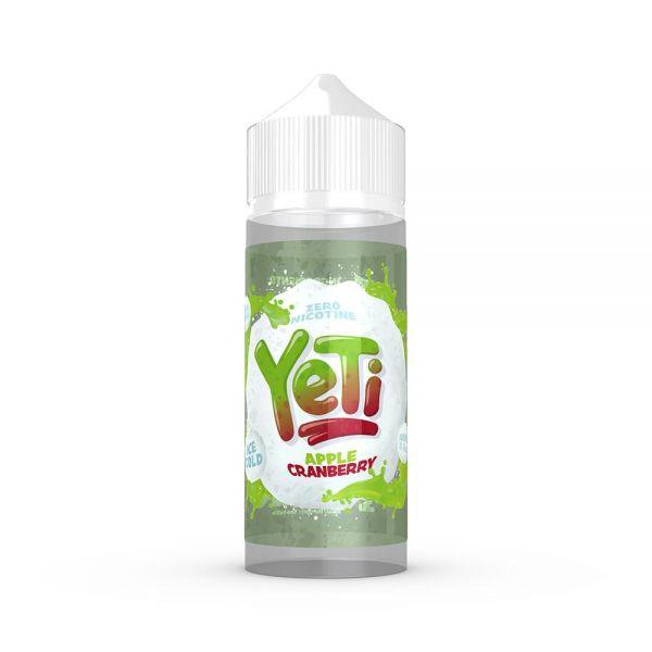 Yeti Apple Cranberry - 100ml Shortfill