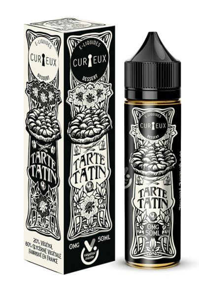 Curieux Edition Dessert Tarte Tatin - 50ml Shortfill