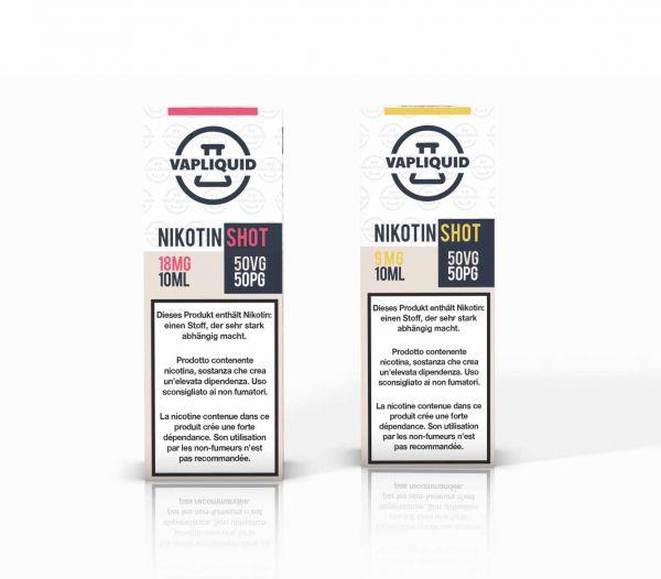 Vapliquid Nikotin Shot - 50/50