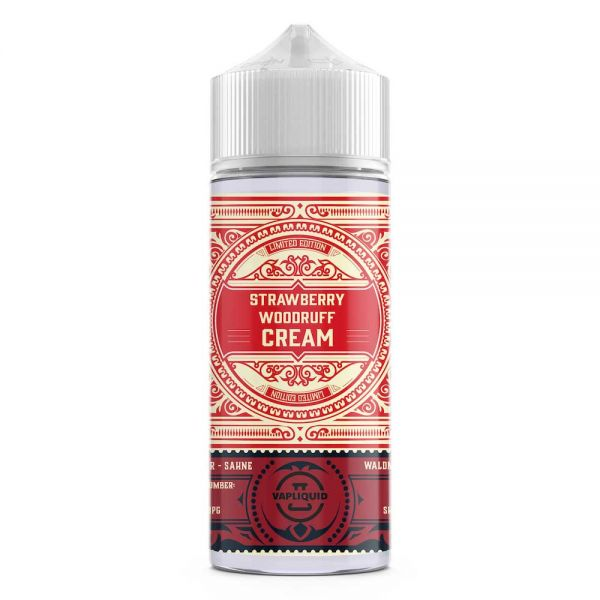 Vapliquid Limited Edition - Strawberry Woodruff Cream - 80ml shortfill