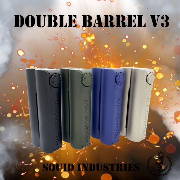 Squid Industries Double Barrel V3 150W Mod - Farben