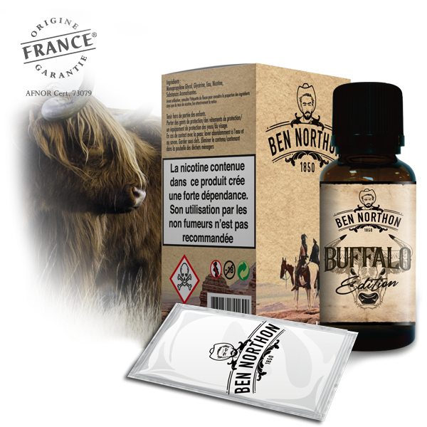 Ben Northon Buffalo Edition - 50ml Shortfill
