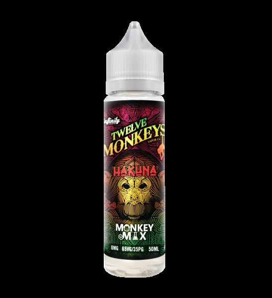 12 Monkeys Hakuna - 50ml Shortfill