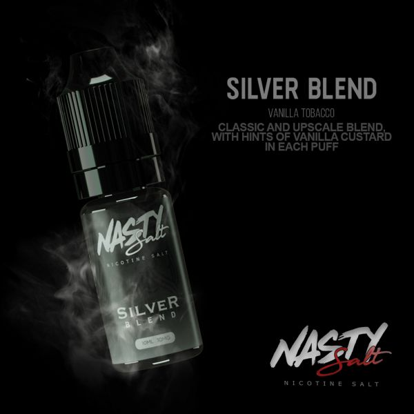 Nasty Salt Silver Tobacco - 20mg Nic Salt