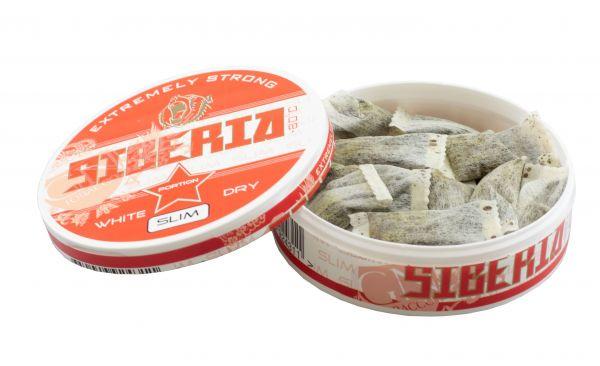 Siberia -80 Degrees Extreme White Dry Portion Slim 13g