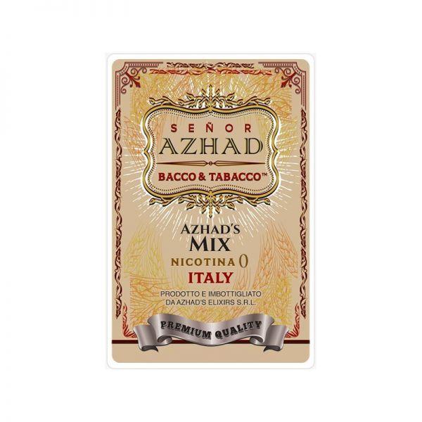Azhad's Elixirs - Bacco & Tobacco - Senor Azhad - 40ml Shortfill