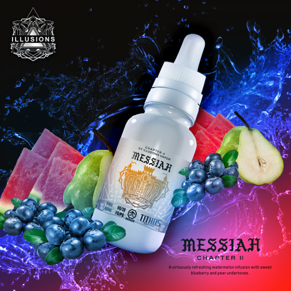 Illusions Vapor - Messiah 60ml