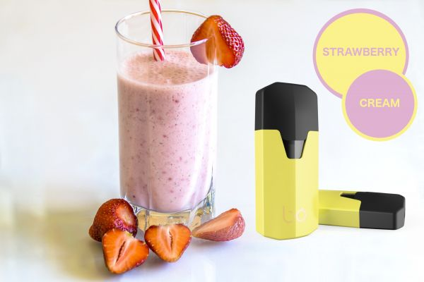 bo Caps Strawberry Cream