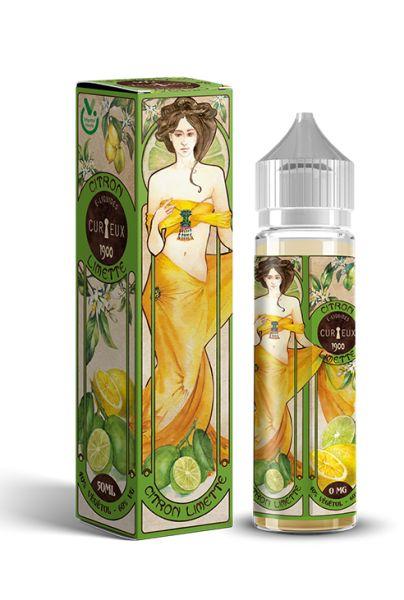 Curieux Edition 1900 - Citron Limette - 50ml Shortfill
