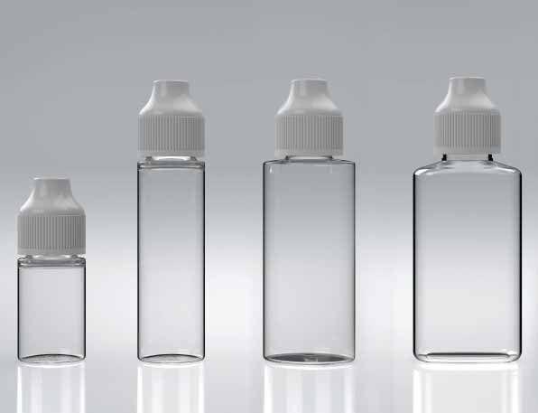 Sone e-Flip & Click® PET Flaschen für E-Liquid
