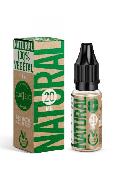 Curieux Natural Nikotinshot mit Vegetol mit 20mg Nikotin