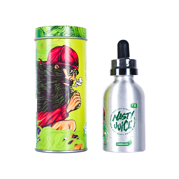 Nasty Juice Green Ape - 50ml Short Fill