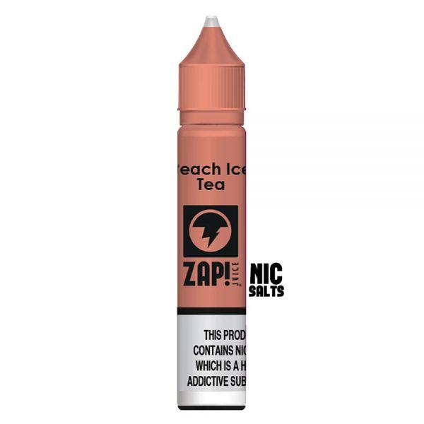ZAP! Peach Ice Tea - 20mg Nic Salt